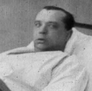 A shelled shocked patient from WW1
