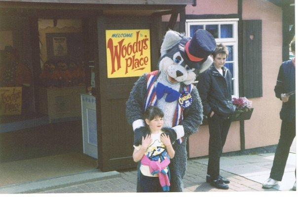 Woody at 'Woody's Place', Pleasurewood Hills circa 1986