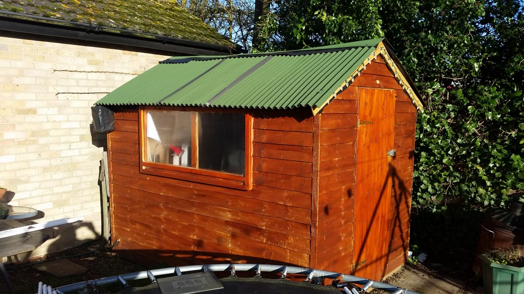 turn a Garden Shed into an Office