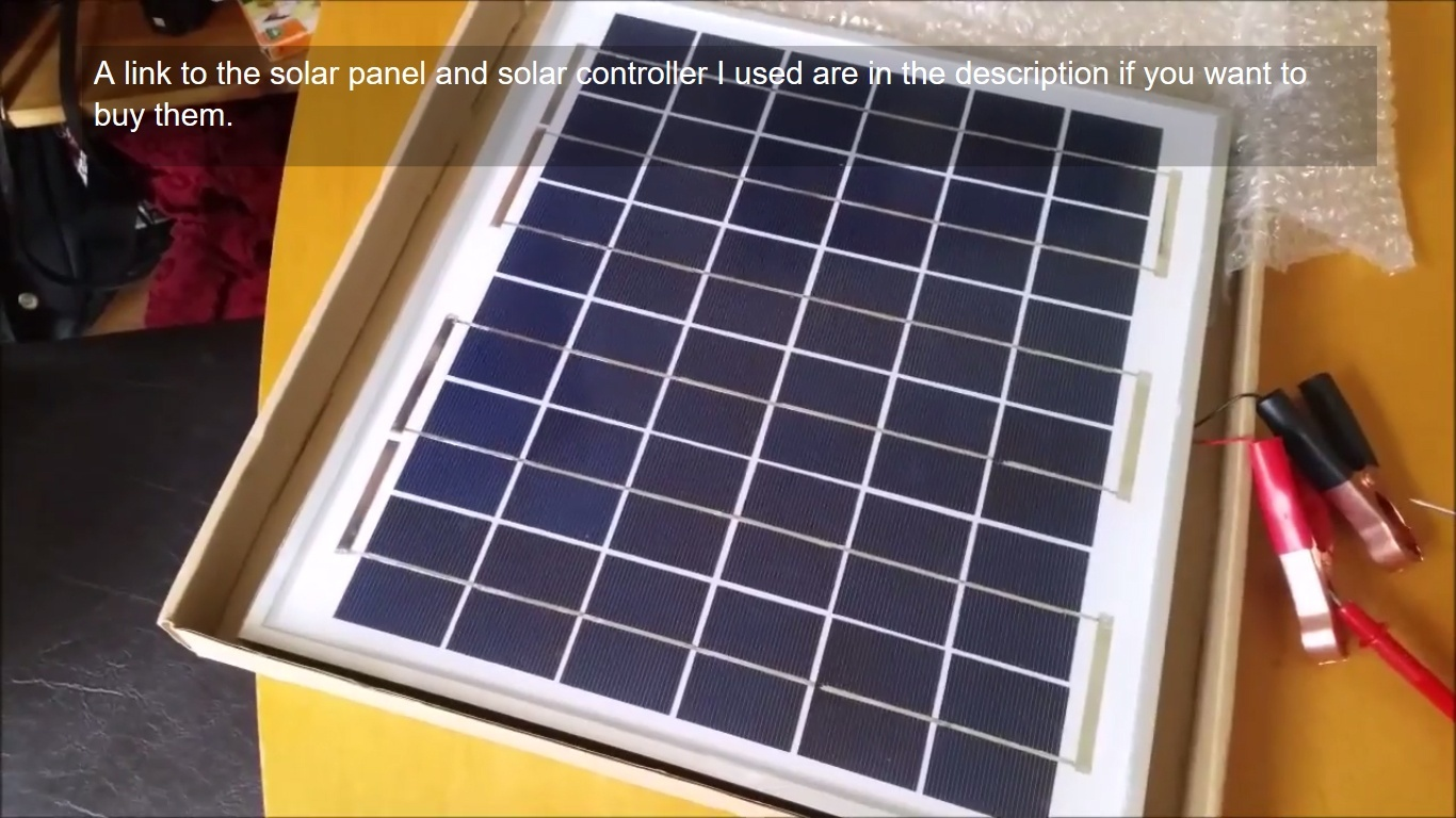Build A 12v Solar Charger System For Camping Caravan Or Shed Notes This Is Simple Circuit That Uses Gloopa