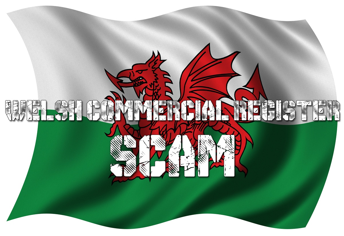 Welsh Commercial Register scam