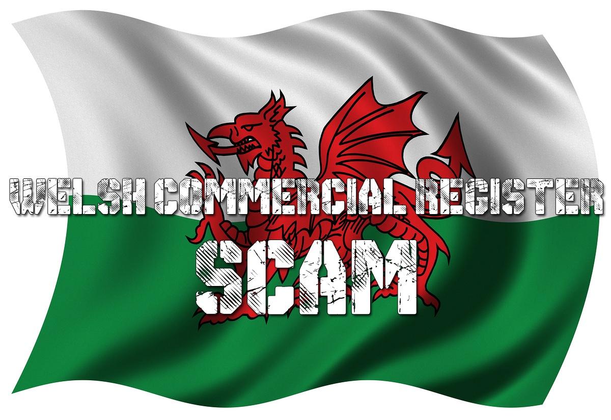 Welsh Commercial Register scam