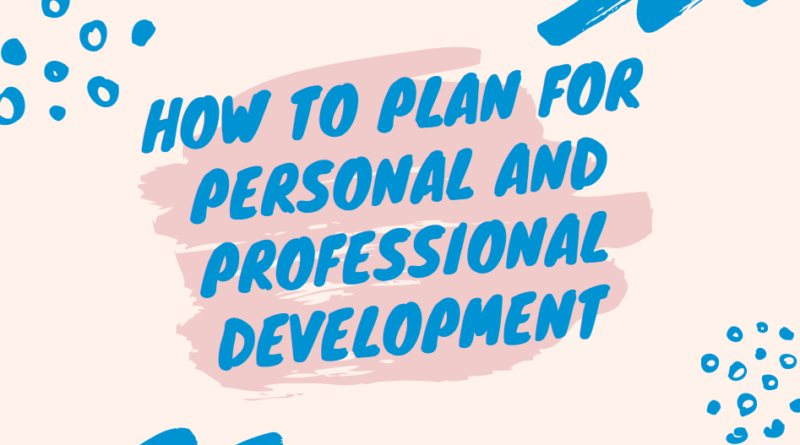 how to implement a personal development plan