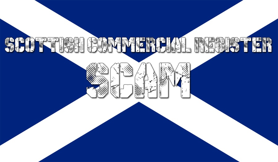 Scottish Commercial Register scam