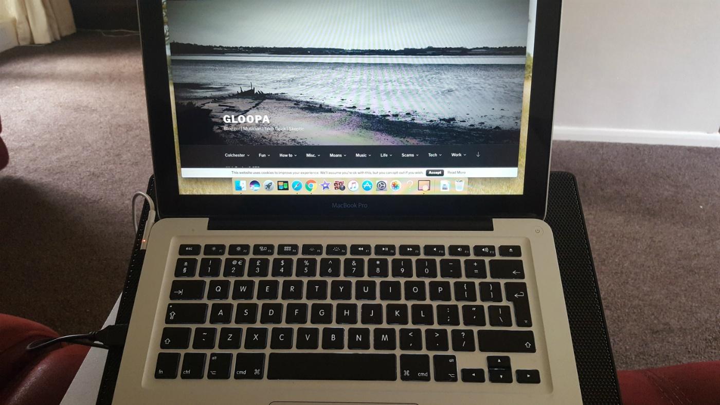 MacBook Pro gets hot